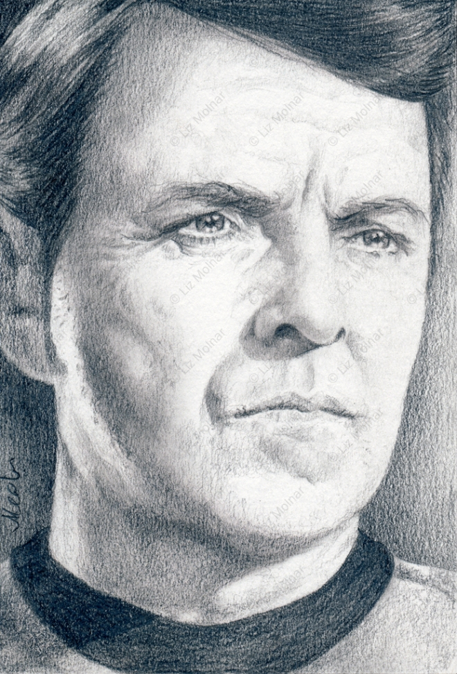 "Montgomery ""Scotty"" Scotty - Star Trek TOS ACEO Project"