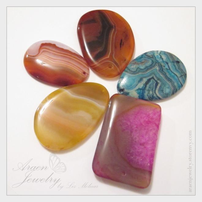 agate cabochon gemstones