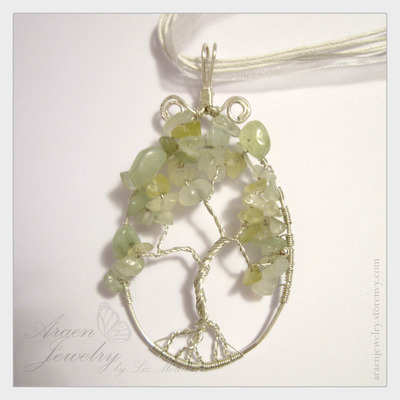 Serpentine Jade Tree of Life