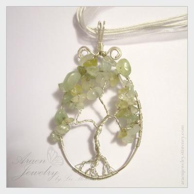 Serpentine Jade Tree of Life